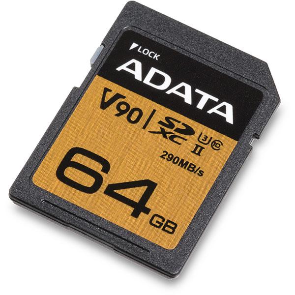 Micro Sd Karte 64gb Test.Adata Premier One Uhs Ii V90 64gb Sdxc Memory Card Review 290mb S