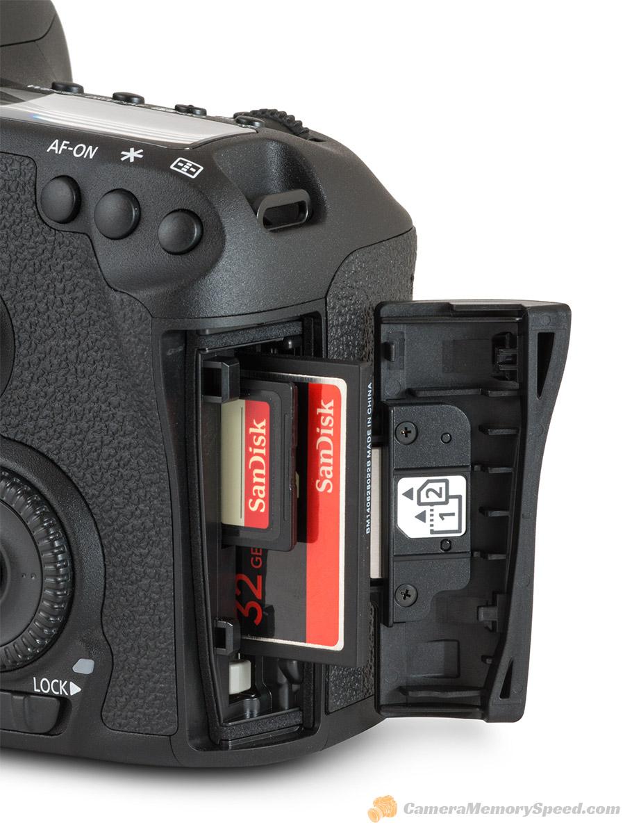 Canon 7d Mark Ii Fastest Sd Cf Card Comparison Write