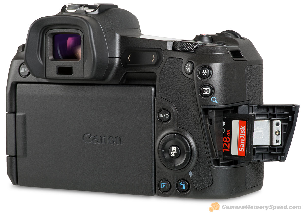 Canon Eos R Fastest Sd Cards Uhs Ii Vs Uhs I Comparison Of