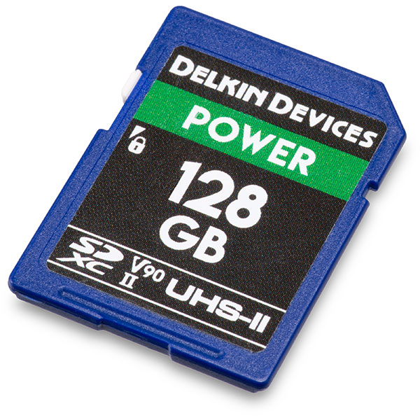 Delkin Power UHS-II V90 128GB SDXC Memory Card