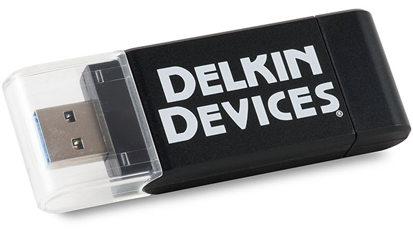 Delkin Devices Travel Reader DDREADER-46 USB 3.0 SD microSD Card Reader