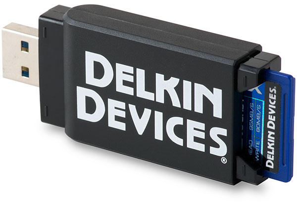 Delkin Travel Reader USB 3.0 with SD card