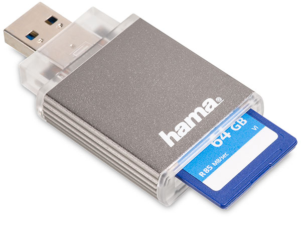 Hama USB 3.0 UHS-II SD Card Reader