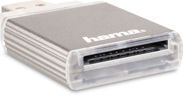 Hama USB 3.0 UHS-II SD Card Reader slot