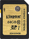 Kingston Class 10 UHS-I SD Card