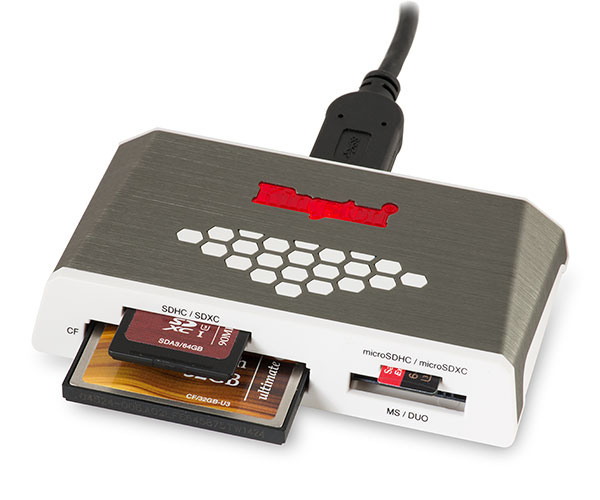 Kingston FCR-HS4 SD and CF Memory Card Reader