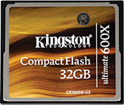 Kingston Ultimate 600x CF card
