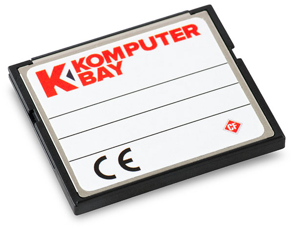 Komputerbay 1066x 128GB CompactFlash Card Back