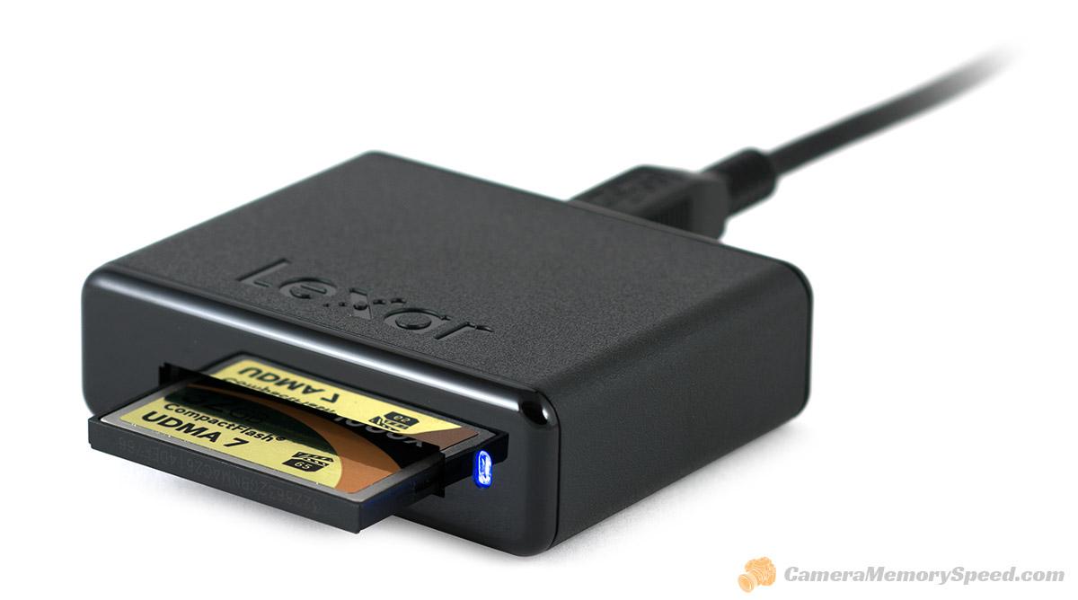 compact flash card reader mac