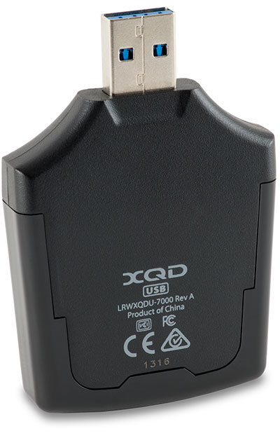Lexar Professional XQD 2.0 USB 3.0 Card Reader Bottom
