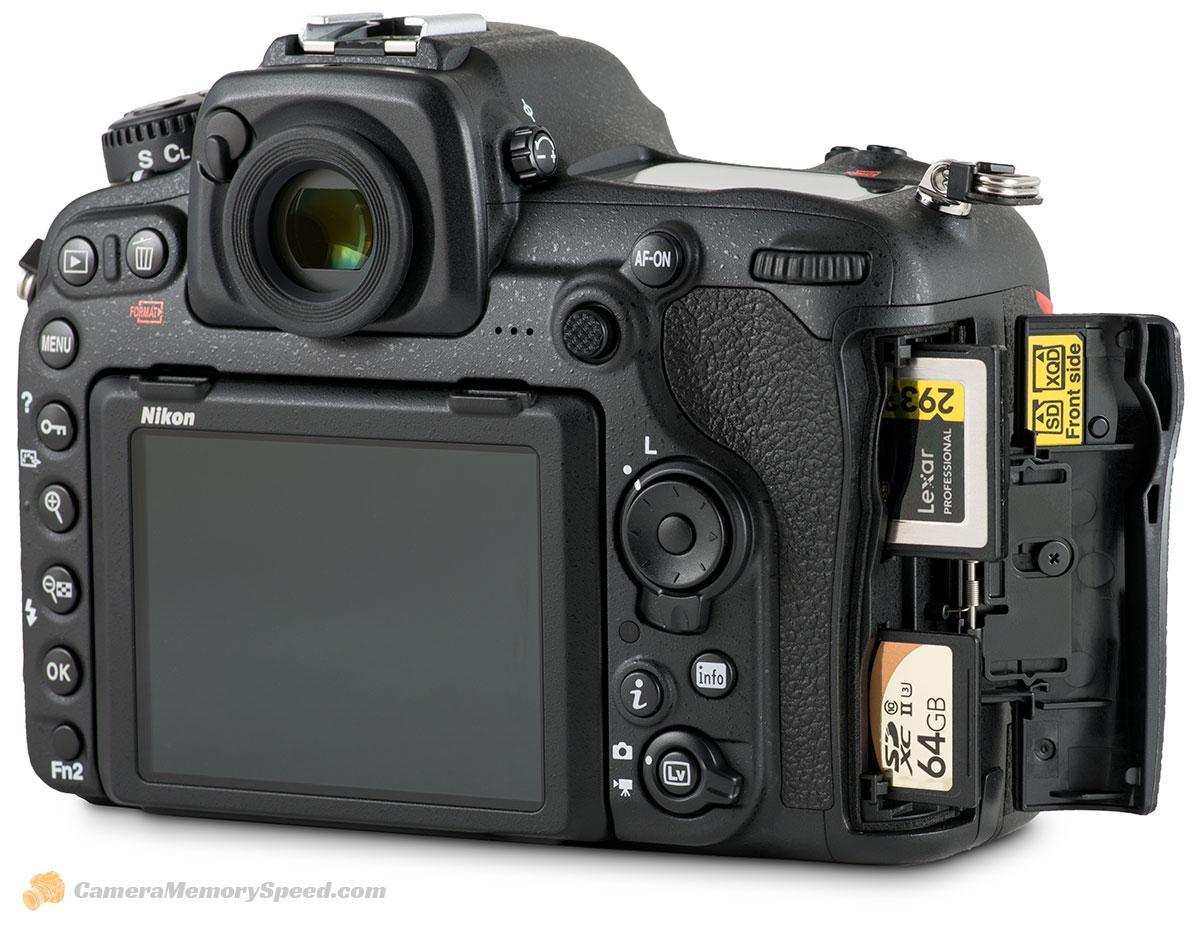 Carte Xqd 128 Go.Nikon D500 Xqd And Sd Uhs Ii Card Performance Comparison Test For