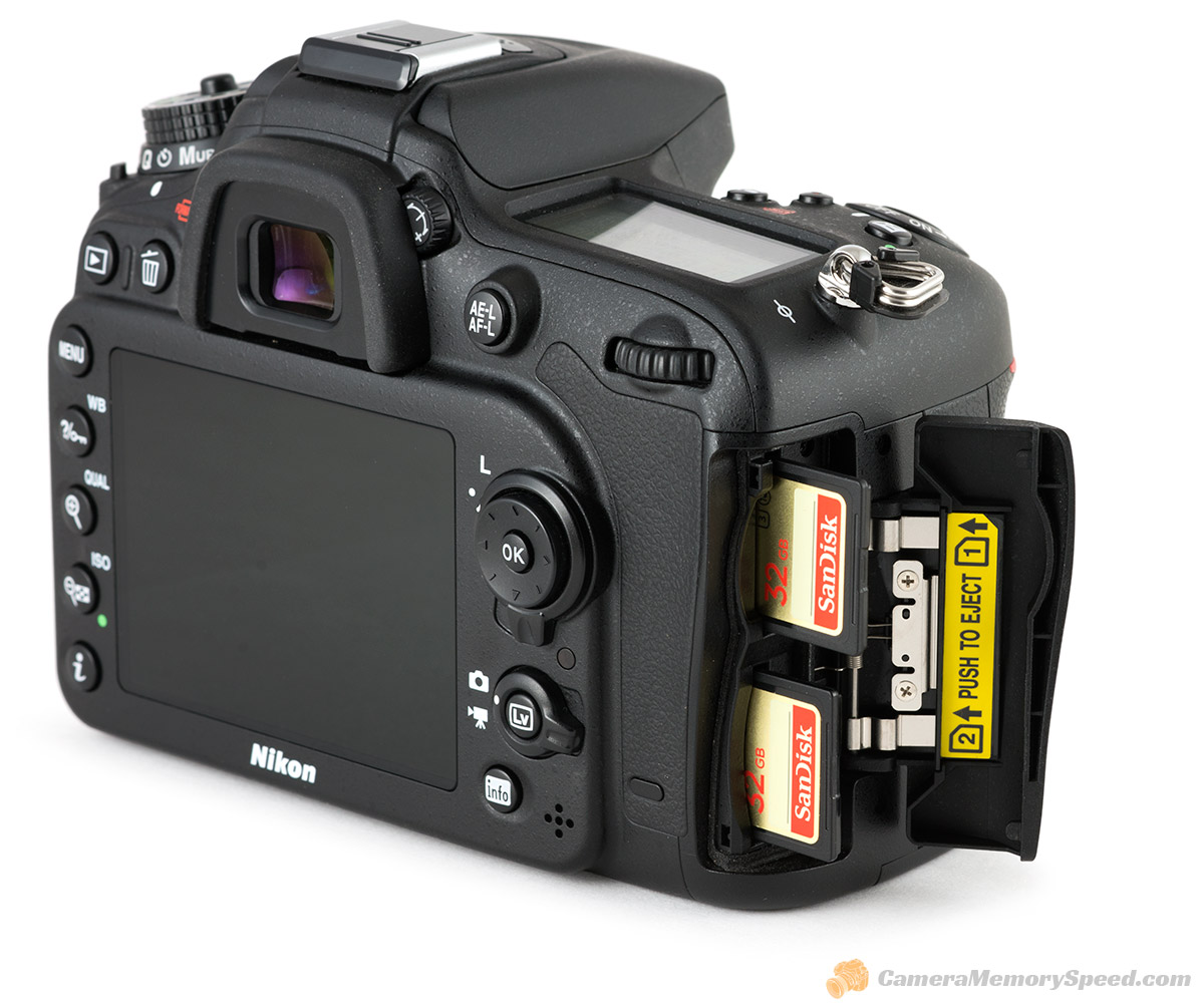Nikon D7100 SD Card Speed Tests - Fastest memory cards for D7100 ...