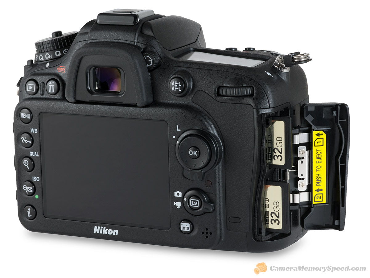 709702b89 Nikon D7200 SD Card Comparison Fastest Write Speed Tests for D7200 ...
