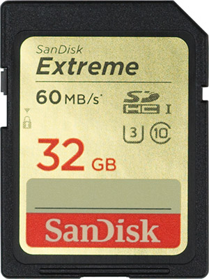 SanDisk Extreme 60MB/s SD Card