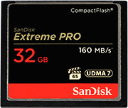 SanDisk Extreme Pro 160MB/s CF Card