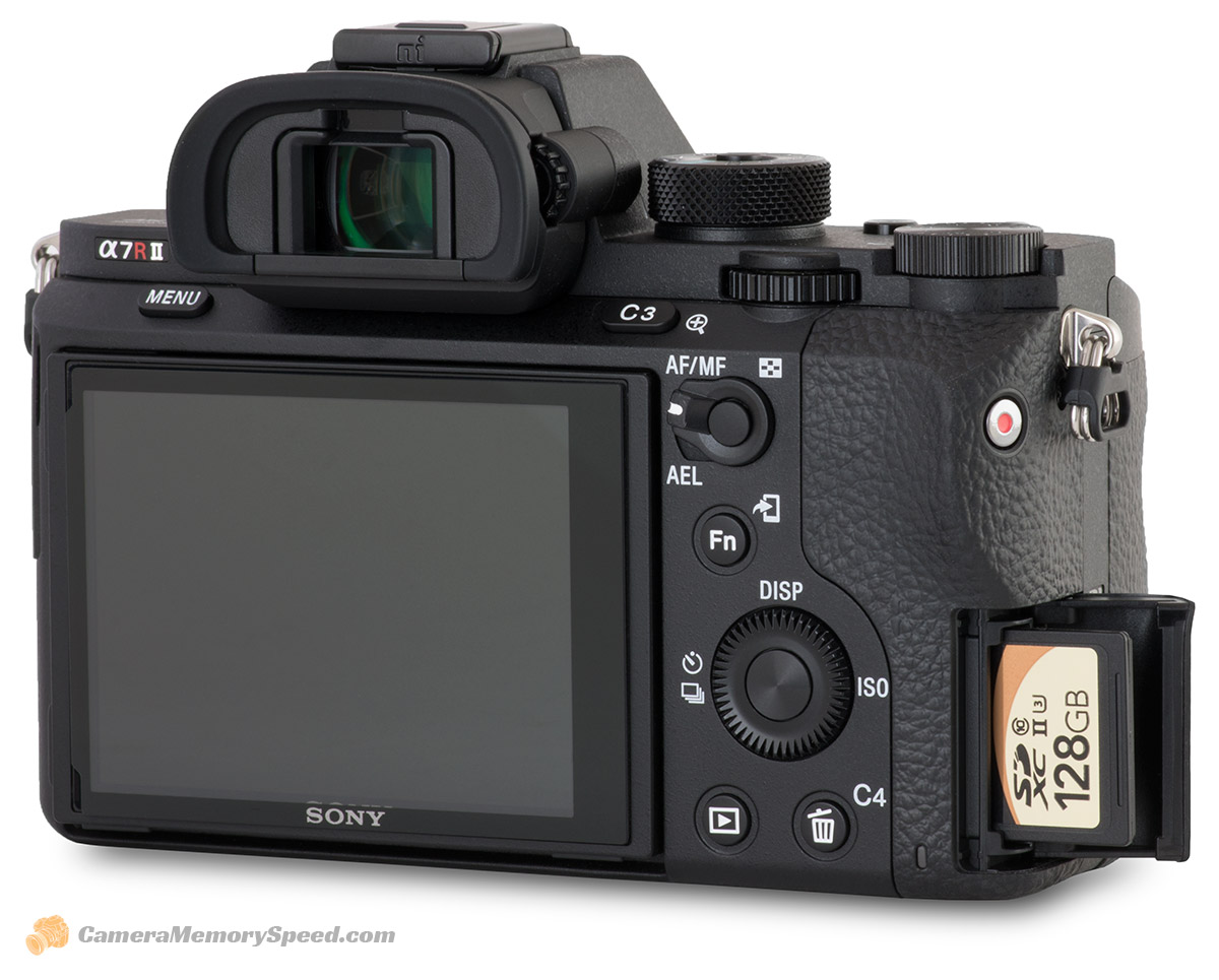 Sony A7R II Fastest SD Card Comparison and Recommended ...