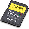 Sony Tough SF-G UHS-II V90 64GB SDXC Card
